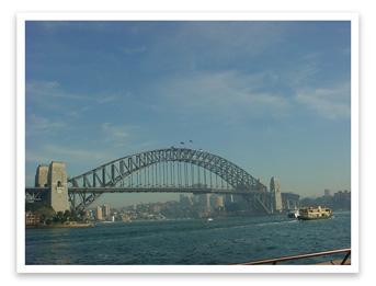 Sydney Harbor Noon